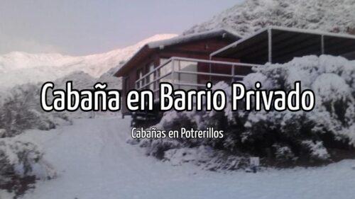 Cabaña en Barrio Privado